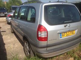 Opel Zafira A 2001 г. запчясти