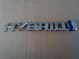 Toyota Prius+ 2013 m. dalys