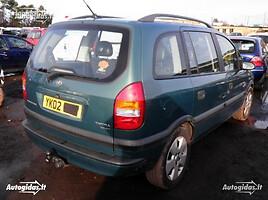 Opel Zafira A 2003 m. dalys