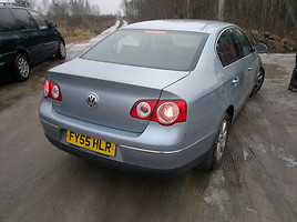 Volkswagen Passat B6 1.977kw sunavigacija 2006 m. dalys