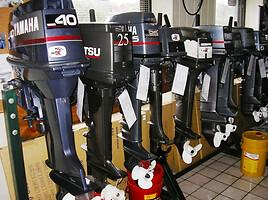 Pakabinamų variklių  naudotos dalys variklis