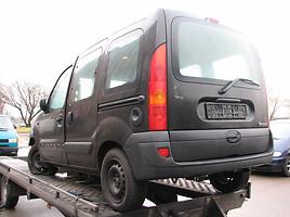 Renault Kangoo   Komercinis auto(su būda)