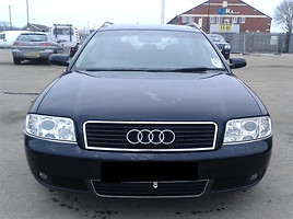Audi A6 C5 2004 m. dalys