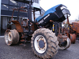 FORD NEW HOLLAND TM TS TL DALYS IR REMONTAS  New Holland