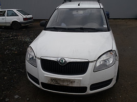 Skoda Roomster   Commercial auto (with box)
