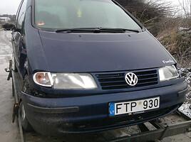 Volkswagen Sharan I 1.9tdi idiali 81kw Vienatūris 1999