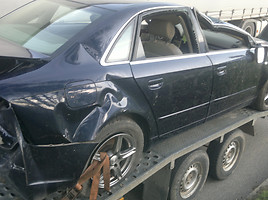 Audi A4 B7 2.5tdi balta oda eur 2007 m. dalys