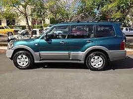 Mitsubishi Pajero III 2002 m. dalys