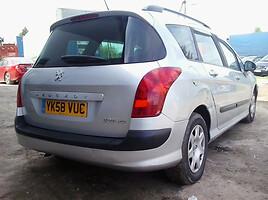 Peugeot 308 2008 m. dalys