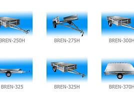 Kita Brentex Bren 325H 2020-03 priekaba