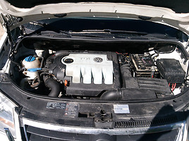 Volkswagen Touran I 103Kw 7vietu 2007 m. dalys