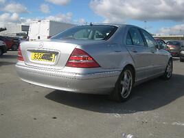 Mercedes-Benz S Klasė benzas   2000 m dalys