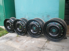R15 steel stamped rims