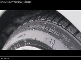 Continental TS830P =>AKCIJA R17 žieminės  padangos lengviesiems