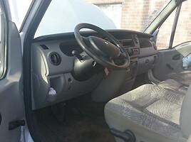 Renault Master III 2.5dci 2007 m. dalys