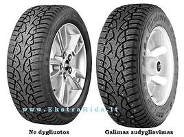 Michelin Alpin PA3 ! AKCIJA ! R16 universalios padangos lengviesiems