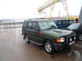 Land-Rover Discovery II 2002 m dalys