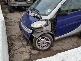 smart fortwo i Coupe 2001