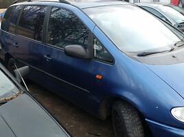 Volkswagen Sharan I 2.0 doch 7vetos  1998 m. dalys