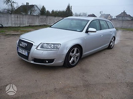Audi A6 C6 2 automobiliai