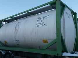 Semitrailer tanker Van Hool Nuoma Pardavimas 2001 y.