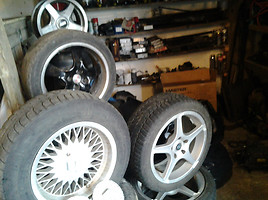 BMW R17 lengvojo lydinio ratlankiai