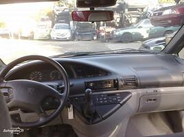 Peugeot 806 Benzinas Dyzelis 1997 m. dalys