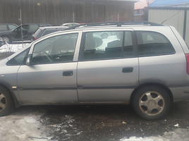 Opel Zafira A 2000 y. parts