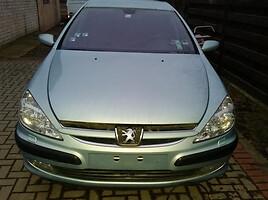 Peugeot 607 HDI 2002 m. dalys