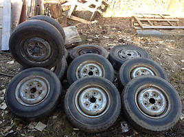 Ford Transit R14 steel stamped  rims