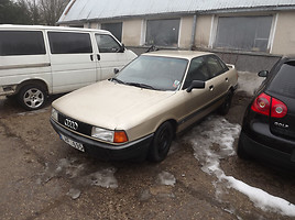 Audi 90 B3 2.0 103 KW DOCH 1990 m. dalys