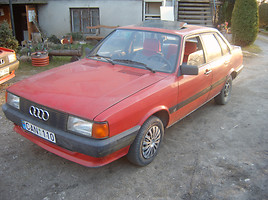 Audi 80 B2 GT, 1986m.