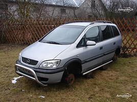 Opel Zafira A 2003 m dalys