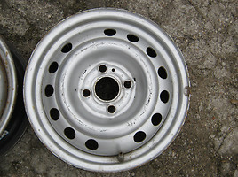 Opel R14 steel stamped rims