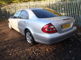 Mercedes-Benz E 270 W211 2004 m. dalys