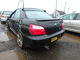 subaru impreza gd STI Type UK Limited Sedanas 2007