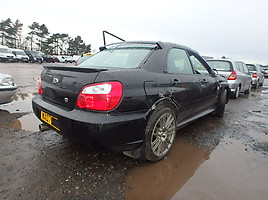 Subaru Impreza GD STI Type UK Limited 2007 m. dalys