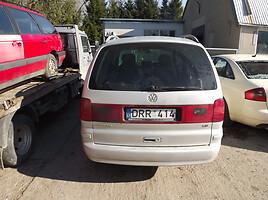 Volkswagen Sharan I 1.9 EUROPA 85KW 2002 m. dalys