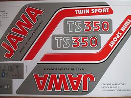 Klasikinis Jawa 350 1990 m. dalys