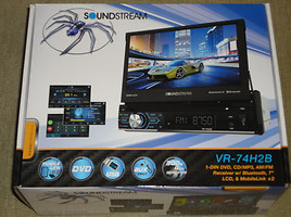 DVD grotuvas  Soundstream vr-75b