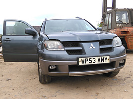 Mitsubishi Outlander I Visureigis 2004