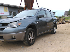 Mitsubishi Outlander I 2004 y. parts