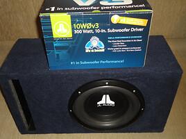 JL audio 10w0v3  išpardavimas