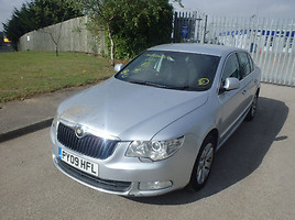 Skoda Superb II 2011 y. parts