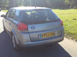 Opel Signum GTS apdaila 2004 m. dalys