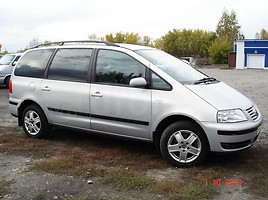 Volkswagen Sharan I 4 MOTION, 2002г.