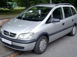 Opel Zafira A 2.0 DYZELIS 74 KW Vienatūris