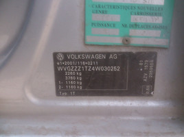 Volkswagen Touran I 7 vietu AZV 2003 m. dalys