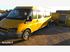 ford transit v (2000-2006)  Keleivinis mikroautobusas 2002