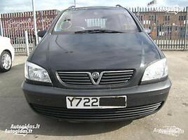 Opel Zafira A 2000 m. dalys